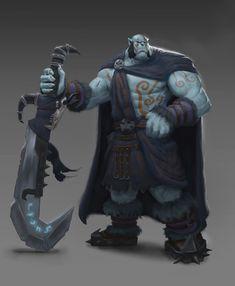 North Orc Commander by Izzual on DeviantArt
