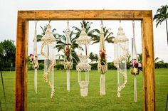 Decor Accents by Show me Your Mumu. Floral, Event Design and Decor Rentals - MartinRoberts Design Ha Kauai Wedding, Boho Wedding, Wedding Flowers, Boho Bride, Wedding Trends, Wedding Ceremony, Ceremony Backdrop, Ceremony Decorations, Corporate Event Design
