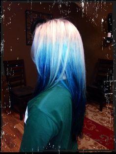 Blue with Pravana Vivids