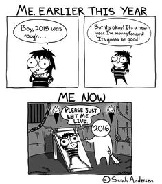 Sarah's Scribbles :: Earlier This Year vs Now   Tapastic Comics - image 1
