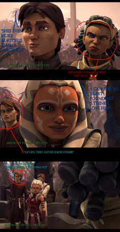 TCW Season 5 A War On Two Fronts-Expressions by Ahsoka114.deviantart.com on @DeviantArt