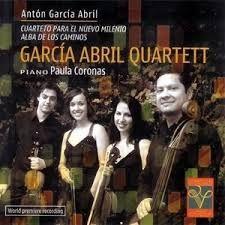 GARCÍA ABRIL, Antón. García Abril Quartett. Cuarteto para el nuevo milenio. Alba de los caminos. Madrid: Fundación Autor, 2007
