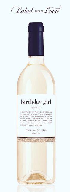 Birthday wine                                                                                                                                                      More