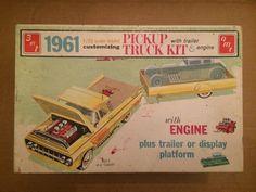 AMT '61 Pickup Model Kit