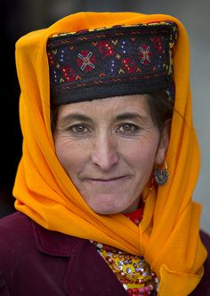 Tajik Woman in Tashkurgan, Xinjiang, China