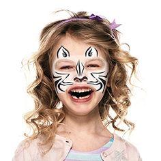 Cómo pintar una cara de cebra | Snazaroo.es