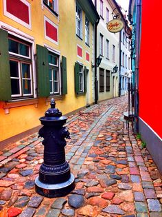 street in Riga, Latvia **** read more about Riga and my travels on jump-on-board.com Riga Latvia, Around The Worlds, Street, Places, Board, Pictures, Travel, Lugares, Trips