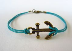 Anchor+Bracelet+Kit+in+Antique+Brass+with+by+LegendaryBeads,+$4.50