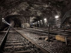 Underground Landscapes: Fascinating photographs of subway tunnels across the world | Creative Boom