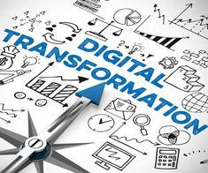 """Fast jedes zweite Großunternehmen in Deutschland sieht sich aktuell """"sehr gut"""" oder """"gut"""" für die digitale Transformation aufgestellt. Tech-Konzerne wie Google oder Amazon werden von den meisten nicht als bedrohliche Wettbewerber wahrgenommen."""
