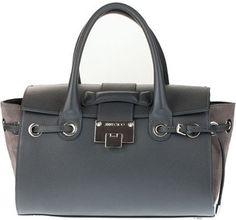 Jimmy Choo Rosa S grey leather handbag Jimmy Choo