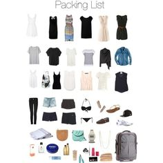 vacation packing