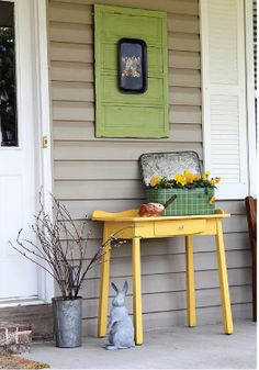 Add a splash of bright colors to instantly transform any porch!