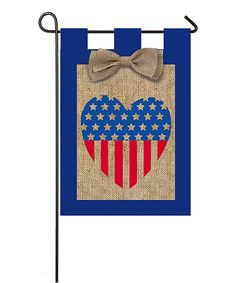 Look at this Patriotic Heart Flag on #zulily today!