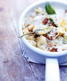 Hummus, Risotto, Potato Salad, Grains, Veggies, Rice, Potatoes, Yummy Food, Cooking