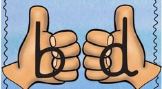 Dificultades en la lectoescritura Inversiones láminas b – d, p – q Bilingual Education, Education English, Early Education, Kids Education, Learning Time, Kids Learning Activities, Therapy Activities, Teaching Kids, Speech Language Therapy