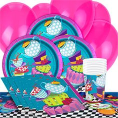 Mad Hatter Party Pack - Value SAVE 28%