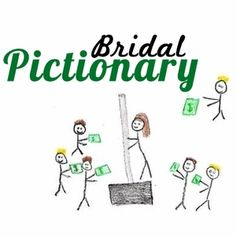 Bachelorette Game: Bridal Pictionary. You can make it yourself! - big white board with markers