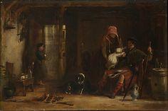 Sir David Wilkie (British, 1785–1841). The Highland Family, 1824. The Metropolitan Museum of Art, New York.