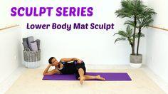 FREE Pilates Barre Workout Lower Body Mat - BARLATES BODY BLITZ Lower Bo...