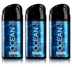 Lot of 3 Bath and Body Works Signature Collectio for Men Ocean Deodorizing Body Spray Bath & Body Works