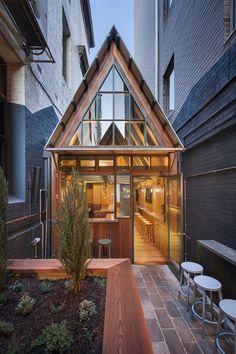Sans-Arc Studio designs Adelaide's little Pink Moon Saloon