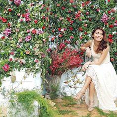 Flowers didnt make you look beautiful; Child Actresses, Child Actors, Filipina Actress, Kathryn Bernardo, You Look Beautiful, All Grown Up, Bridesmaid Dresses, Wedding Dresses, Red Roses