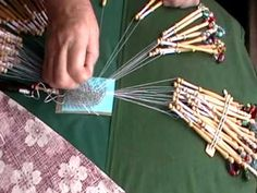 NANCY TODAY: ROOM FOR WORK: BOBBIN LACE TUTORIAL @ LYNDON HOUSE