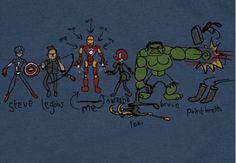 Iron Man Avenger tshirt