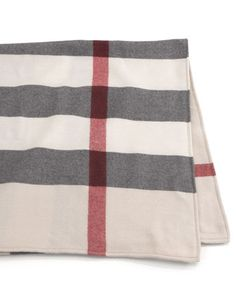 Wool Check Baby Blanket by Burberry at Neiman Marcus.