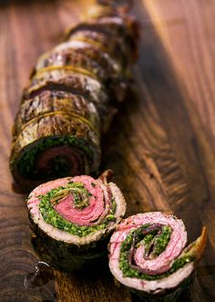 Beef Roulades with Walnut Parsley Pesto Recipe | Simply Recipes