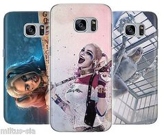 Harley Quinn Suicide Squad Rubber Cover Case fits Samsung Galaxy s6 s6 edge s6 edge + s7 s7 edge