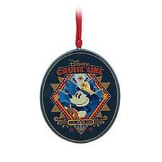 Captain Mickey Ornament - Disney Cruise Line | Disney StoreCaptain Mickey Ornament - Disney Cruise Line - Captain Mickey will steer you toward the holidays ahead as he covers this ceramic ornament. Perfect for remembering your fun-filled vacation aboard Disney Cruise Line!