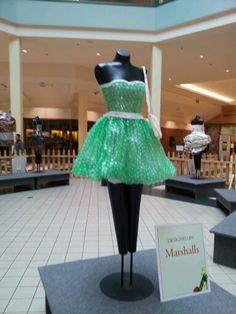 Bubble wrap dress :-)
