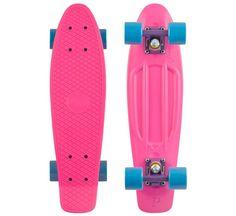 Penny Skateboard Pink - Purple - Blue