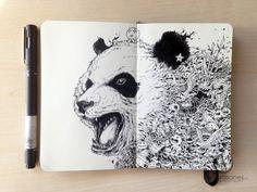 Sketchy Stories by Kerby Rosanes – Fubiz™