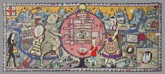 Grayson Perry Map of Truths and Beliefs_2011