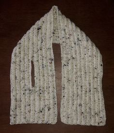A crochet neck warmer A quick little project – a smaller scarf that fits closely round your neck, with one end slotted through the other for extra snugness. The post A crochet neck warmer appeared first on Welcome! Crochet Beanie, Knit Crochet, Crochet Hats, Quick Crochet, Crochet Scarves, Crochet Clothes, Crochet Dresses, Crochet Kids Scarf, Knitting Patterns