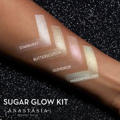 "56.4k Likes, 803 Comments - Anastasia Beverly Hills (@anastasiabeverlyhills) on Instagram: ""Sugar #GlowKit swipe for additional swatches"""