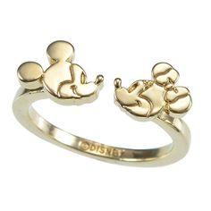 リング My Treasure Ring ミッキー&ミニー