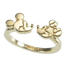 "Mickey & Minnie ""My Treasure"" Ring"