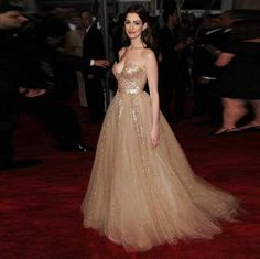 Extravagant A Line Sweetheart Neckline Empire Waists Tulle Floor Length Celebrity Red Carpet Dress 2015 Prom Dress