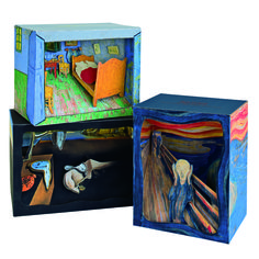 3-dimensional paper dioramas from artful-kids.com