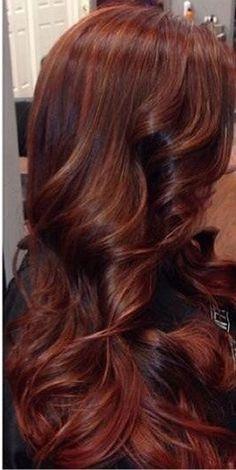 Dark auburn brown