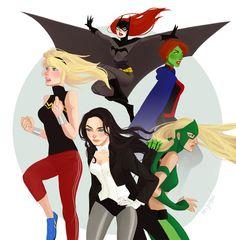 badass girls of YJ by Lisharelle