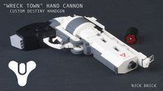 """Destiny """"Wreck Town"""" Hand Cannon 