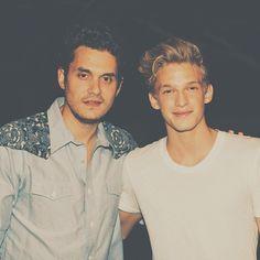 John Mayer and Cody Simpson