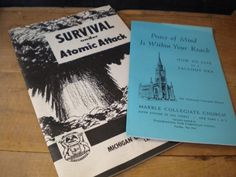 1950s Survival Under Atomic Attack Booklet / by JMFindsandDesigns