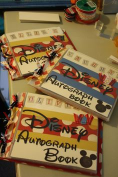Autograph Books Idea