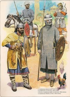10th-11th century Andalusians by Angus McBride